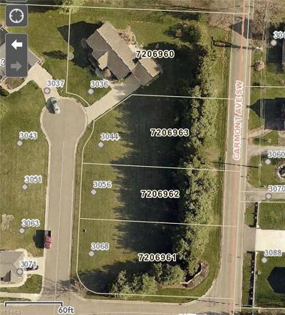 Massillon Residential Lots & Land For Sale: 3044 Bent Creek Circle
