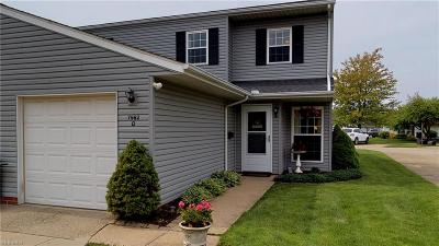 Mentor Condo/Townhouse For Sale: 7982 Colonial Dr #91-D