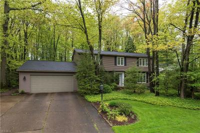 Strongsville Single Family Home Contingent: 19953 Idlewood Trl
