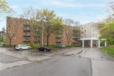 North Olmsted Condo/Townhouse For Sale: 3675 Clague Rd #505