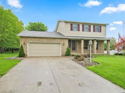 Boardman OH Single Family Home Contingent: $169,900