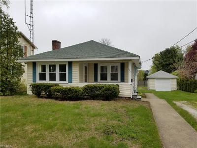 Conneaut Single Family Home For Sale: 968 Fern Street