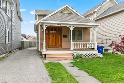 Cleveland Single Family Home Active Under Contract: 1450 W 48 Street