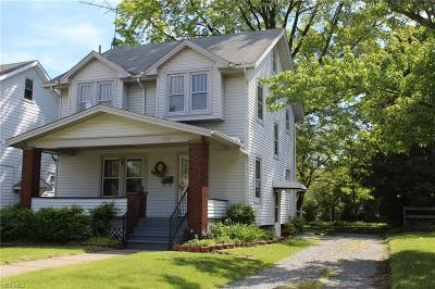 Alliance OH Single Family Home For Sale: $116,900