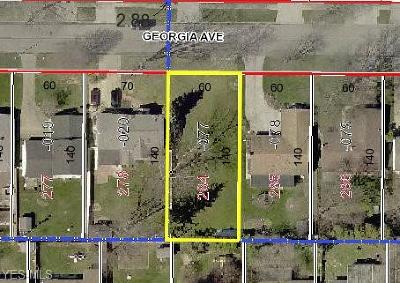 Lorain County Residential Lots & Land For Sale: Georgia Ave