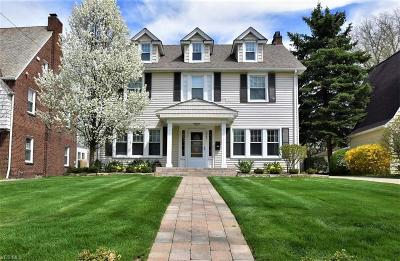 Shaker Heights Single Family Home Contingent: 3309 Stockholm Rd