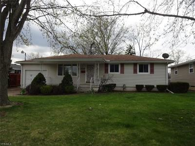 Lorain County Single Family Home For Sale: 2009 West 29th St