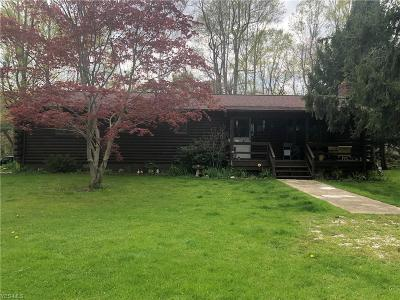 Conneaut Single Family Home For Sale: 3782 Lake Road