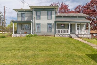 Geneva Single Family Home For Sale: 2452 St Rt 534