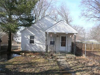 Sheffield Single Family Home For Sale: 5074 Bond Ave