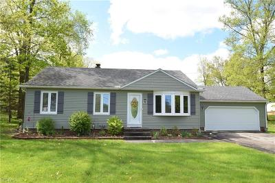 Medina County Single Family Home Contingent: 3608 Boston Rd