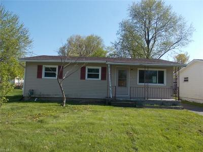 Lorain Single Family Home Active Under Contract: 2722 Crehore Street