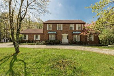 Single Family Home For Sale: 14470 County Line Rd