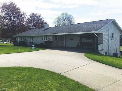 Stark County Single Family Home For Auction: 5950 Columbus Rd