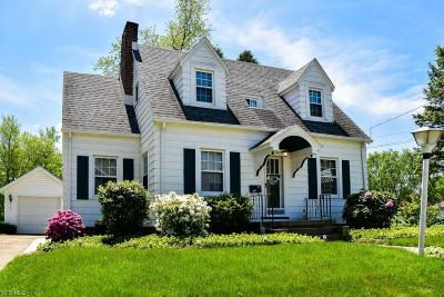 Stark County Single Family Home For Sale: 1539 Overlook Ave Southwest