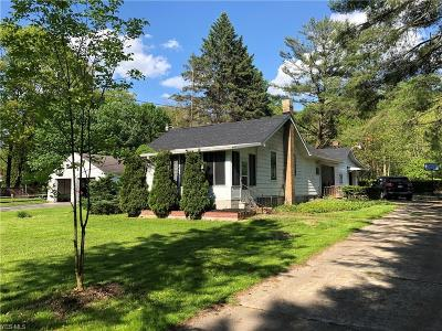 Poland Single Family Home For Sale: 8775 Woodland Drive