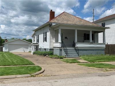 Zanesville Single Family Home For Sale: 1539 State St