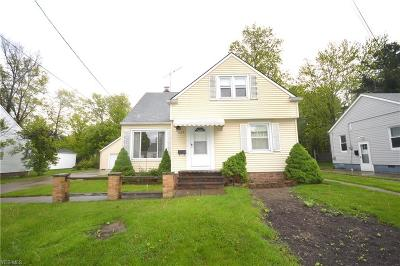 Wickliffe Single Family Home Active Under Contract: 1659 Douglas Road