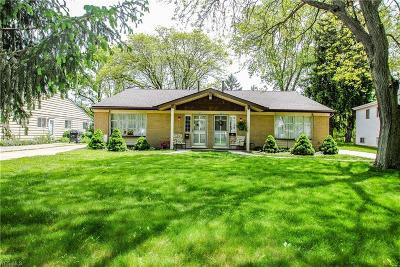 North Olmsted Multi Family Home Active Under Contract: 3677 Beaumont Drive