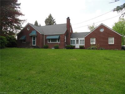 Kent Single Family Home For Sale: 1241 Tallmadge Rd