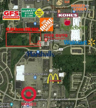 Medina Residential Lots & Land For Sale: V/L Pearl & Hillview Rd
