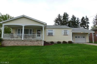 Struthers Single Family Home Active Under Contract: 478 W Harvey Street