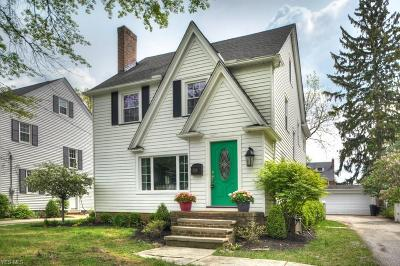 Rocky River Single Family Home For Sale: 21283 Erie Rd