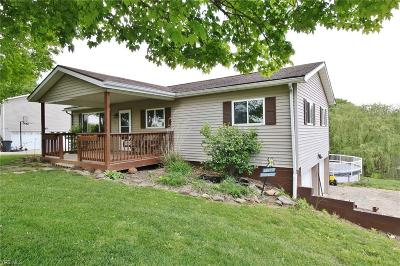 Zanesville Single Family Home For Sale: 870 Timber Run Rd