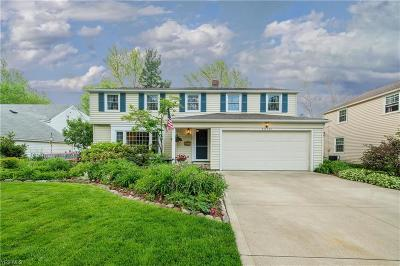 Rocky River Single Family Home Active Under Contract: 20101 Westhaven Lane
