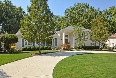 Fairview Park Single Family Home For Sale: 3910 West Valley Rd