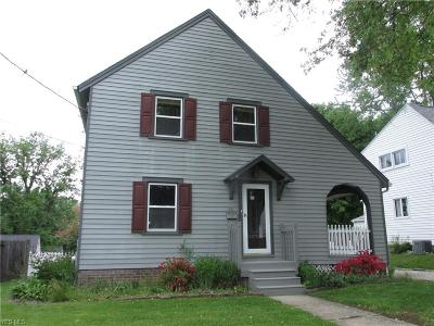 Stark County Single Family Home For Sale: 211 Donner Ave Northwest