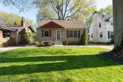 Cleveland OH Single Family Home For Sale: $189,000