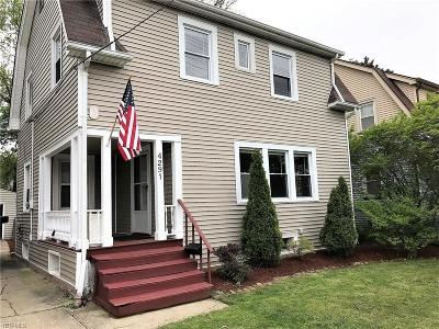 Cleveland OH Single Family Home For Sale: $109,500