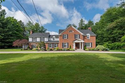 Single Family Home For Sale: 7637 Chagrin Rd