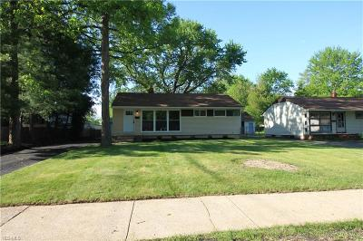 North Olmsted Single Family Home For Sale: 23323 Olmsted Dr