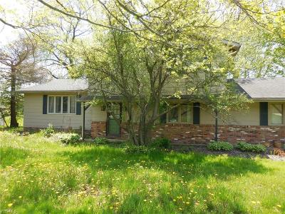 Chardon Single Family Home For Sale: 11625 Hosford Road