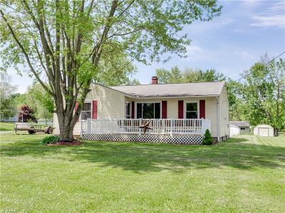 Stark County Single Family Home For Sale: 10567 Wilma Ave Northeast