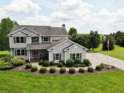 Muskingum County Single Family Home Active Under Contract: 2075 Oak Ridge Circle