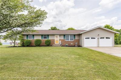 Zanesville Single Family Home For Sale: 3605 Old Wheeling Rd