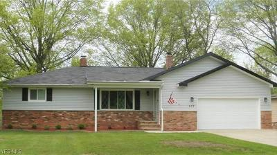 Highland Heights Single Family Home Active Under Contract: 672 Radford Drive