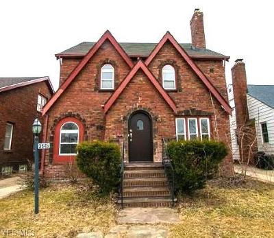 Shaker Heights OH Single Family Home Active Under Contract: $134,900