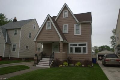 Cleveland OH Single Family Home Coming Soon: $164,900