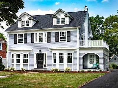 Shaker Heights Single Family Home Contingent: 3376 Dorchester Rd