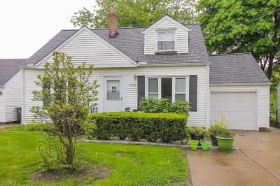 Beachwood, Chagrin Falls, Lyndhurst, Seven Hills, Solon, Aurora, Hudson, Kent, Reminderville, Sagamore Hills, Twinsburg Single Family Home For Sale: 4820 Anderson Rd