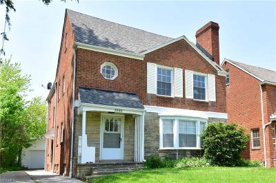 Shaker Heights Multi Family Home For Sale: 3580 Normandy Rd