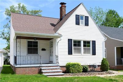 Single Family Home For Sale: 3310 Torrington Ave
