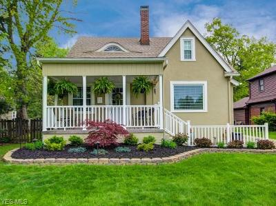Boardman OH Single Family Home Contingent: $138,000