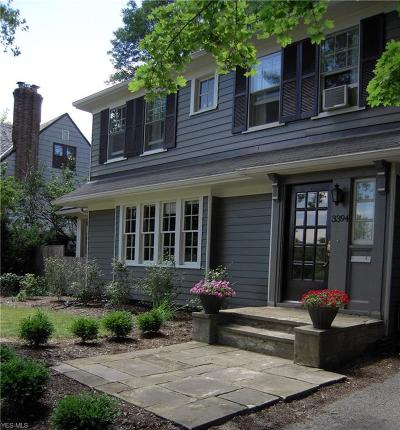 Shaker Heights Single Family Home Coming Soon: 3394 Ingleside Rd
