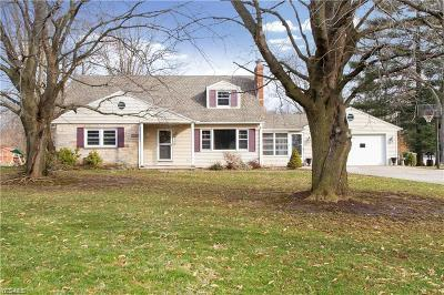 Canfield Single Family Home Active Under Contract: 3654 McCarty Drive