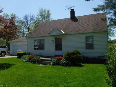 Willoughby Single Family Home For Sale: 3864 East 364 St